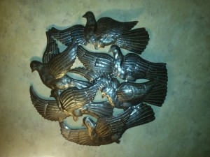 dove metal art